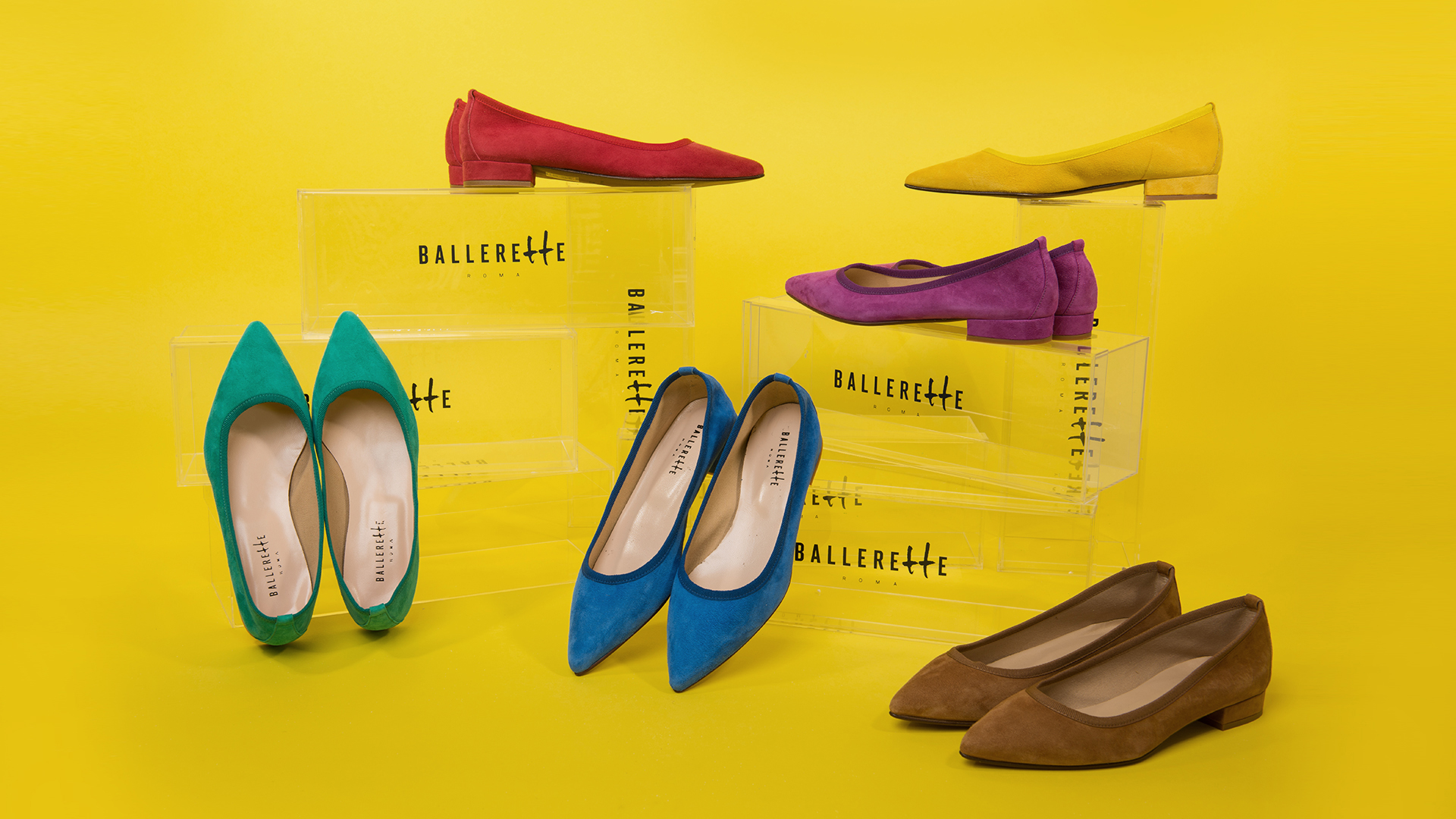 Classic pointed toe ballet flats