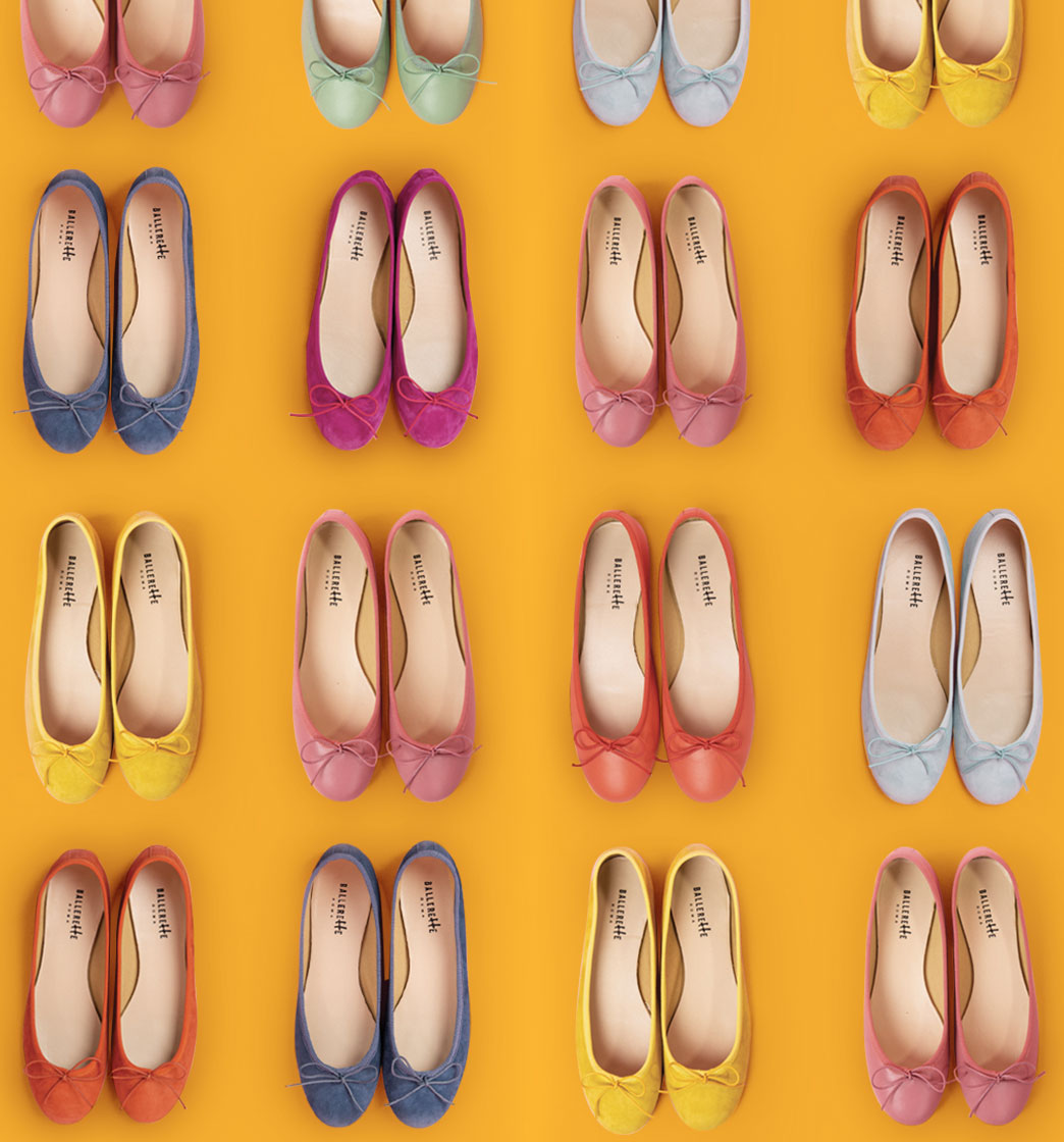Classic round toe ballet flats